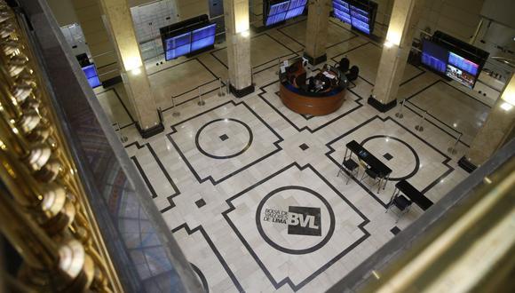 El índice S&P/BVL Perú Selectivo, donde se cotizan las acciones de mayor liquidez y capitalización, perdía un -0,72%. (Foto: GEC)