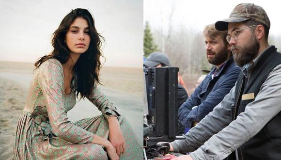 """(Izquierda) Camila Morrone, la actriz y modelo argentina debutará en Cannes protagonizando la cinta estadounidense """"Mickey and the bear""""."""