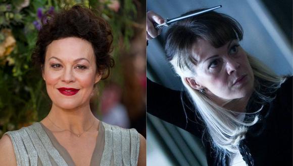 """La actriz Helen McCrocy dio vida a Narcissa Malfoy en la serie de películas """"Harry Potter"""". (Foto: AFP-Justin Tallis/Warner Bros)"""