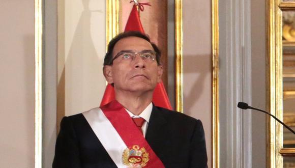 Martín Vizcarra afronta diversas investigaciones fiscales y un proceso en el Congreso que lo puede llevar a su inhabilitación (Foto: Grupo El Comercio)