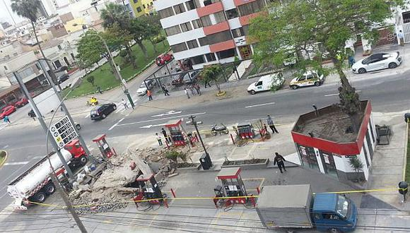 Explosión en grifo: Magdalena exige revisar todos los grifos