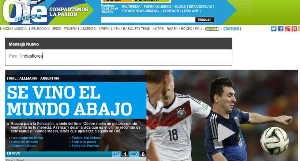 El dolor de Argentina en las portadas de sus diarios - 1