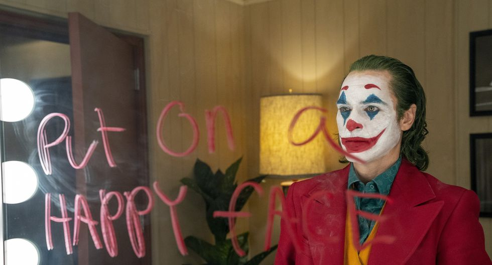 Joaquin Phoenix en una escena del Joker. Foto: AP