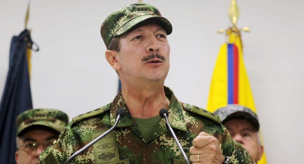 Vinculan a jefe de ejército colombiano Nicacio Martínez Espinel con asesinatos. (Reuters).