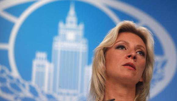 Maria Zakharova, portavoz de la cancillería de Rusia. (Foto: EFE)