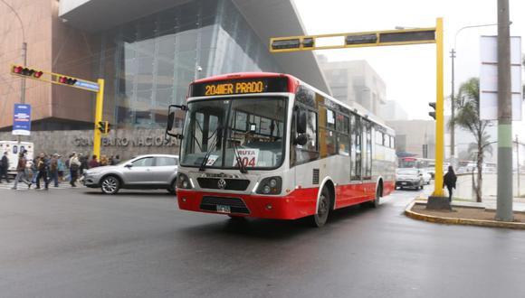 La Municipalidad de Lima señaló que el servicio 204 funciona de lunes a domingo desde las 5 a.m. hasta las 11 p.m.