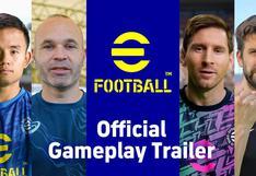eFootball muestra su primer gameplay: así es el videojuego que llega para reemplazar a PES [VIDEO]