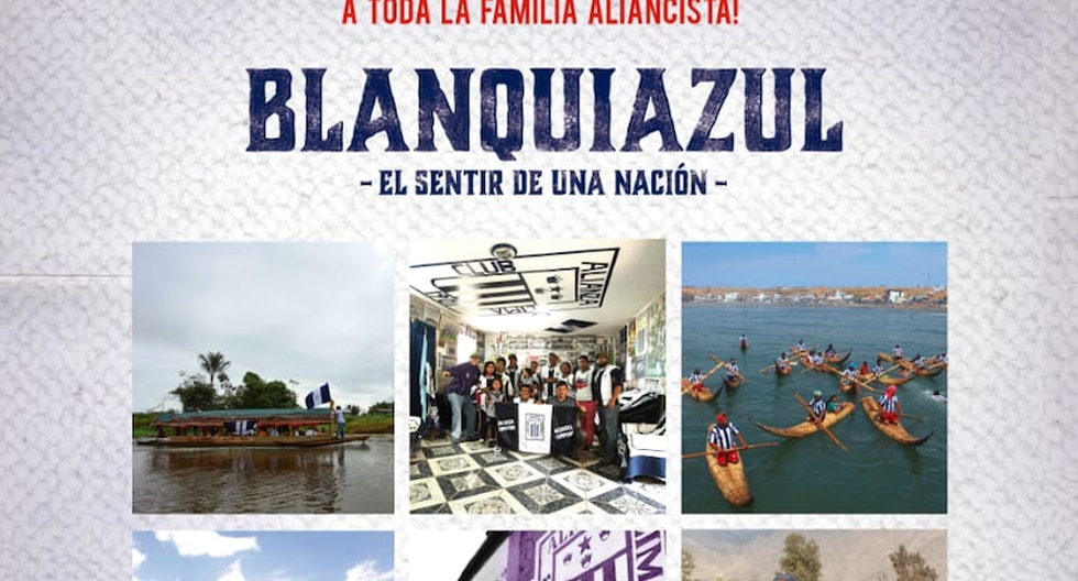 Blanquiazul, el sentir de una nación
