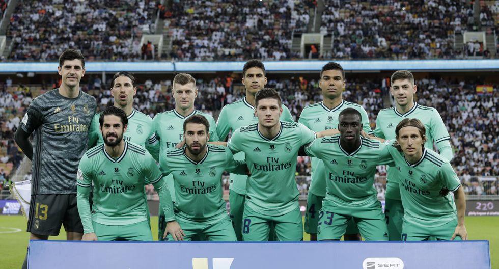 Real Madrid enfrentó al Valencia por la semifinal de la Supercopa de España   Foto: Agencias