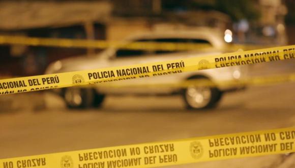 Policías de la Dirandro se encuentran consternados por el homicidio de su compañero de trabajo Gregorio Ancasi Checasaca | Foto: César Grados / @photo.gec