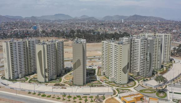 La Villa Panamericana, una de las obras emblemáticas de los Juegos Panamericanos que consiguió su infraestructura con Acuerdos de Gobierno a Gobierno. (Foto: Andina)
