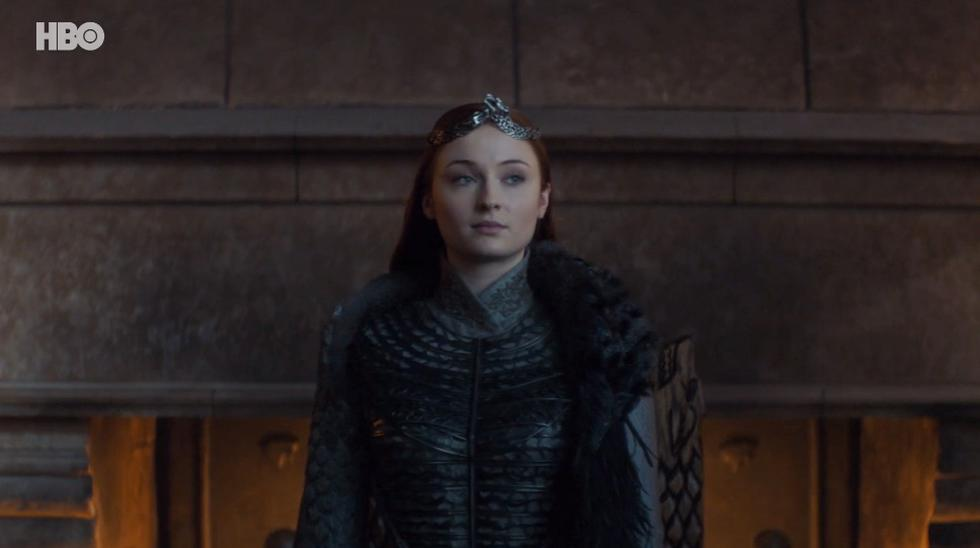 Sansa Stark (Sophie Turner), Reina del Norte. Foto: HBO.