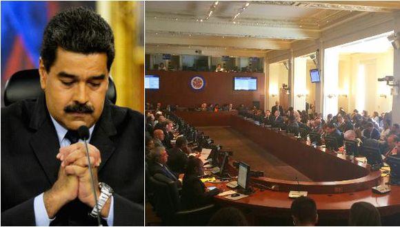 El gobierno de Venezuela ha iniciado su retirada del ente continental, un proceso que dura dos años. (Foto: AFP/AP)