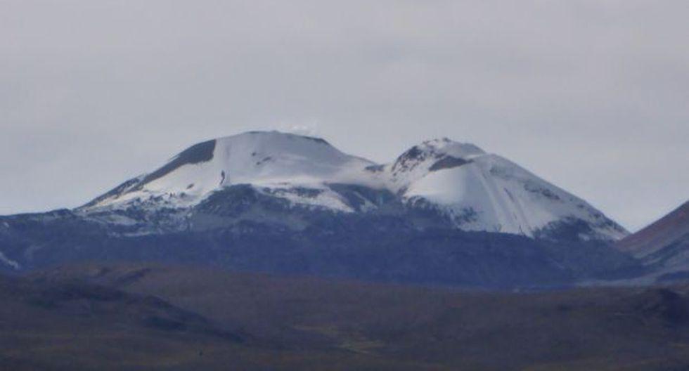 Sabancaya: cenizas alcanzan 2 mil metros y afectan 3 caseríos