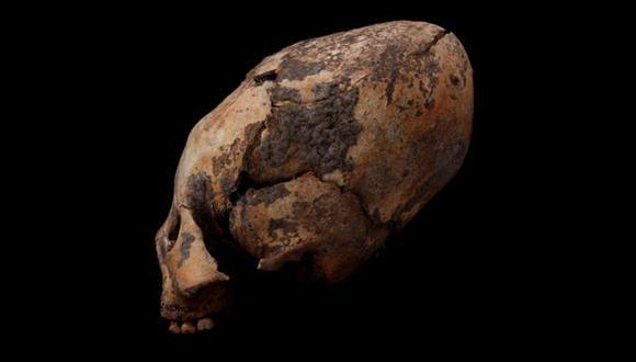 Los cráneos se deformaron para darles un aspecto alargado. (Foto: QIAN WANG/TEXAS A&M UNIVERSITY)