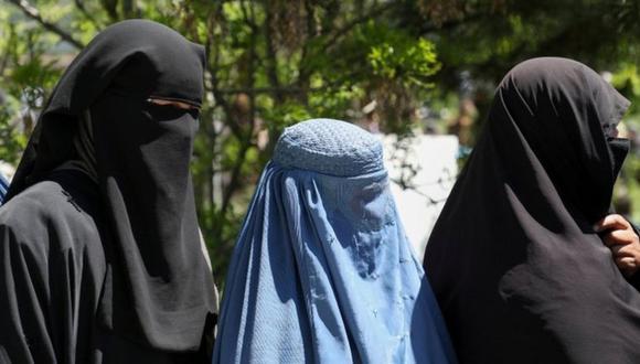Los talibanes recomendaron a las mujeres quedarse en casa. (Reuters).