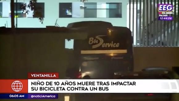 Según familiares de la víctima, el chofer habría estado ebrio al momento de conducir. Foto: Captura de pantalla