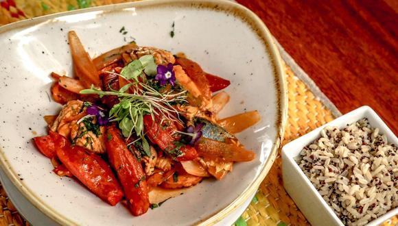 Ceviche caliente de caballa. (Foto: A comer pescado)