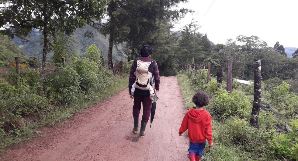 Aquí vamos a cualquier camino desconocido y lo recorremos sin saber a dónde nos llevará (Foto: Alba García)