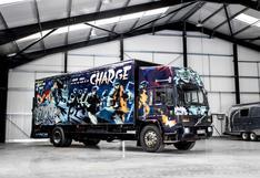 Banksy: artista intervino un camión y lo convirtió en el más costoso del mundo   FOTOS