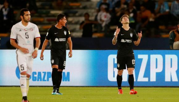 Pachuca se quedó con la medalla de bronce del Mundial de Clubes. Los 'Tuzos' se impusieron por 4-1 ante el Al Jazira de Emiratos Árabes Unidos. (Foto: Reuters)