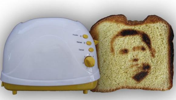 Para un desayuno personalizado: la 'Selfie Tostadora'