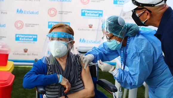 El horario de vacunación será de 7 a.m. a 4 p.m. y es necesario acercarse con su documento de identidad nacional (DNI). (Foto: GEC)