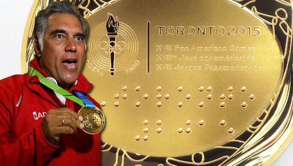 Toronto 2015: ¿Cuánto pesa la medalla de oro de Pancho Boza?
