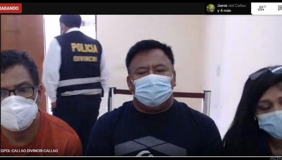 Los sujetos acusados de pertenecer a la banda fueron detenidos el pasado 30 de enero. (Foto: Corte Superior de Justicia del Callao)