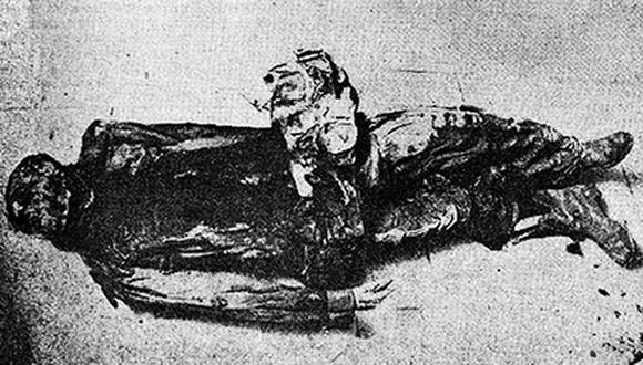 Desde finales de 1880 las tropas chilenas empezaron a desembarcar al sur de Lima. Entre ese contingente debió haber llegado el sargento chileno cuyo cadáver fue hallado en los arenales de San Juan de Miraflores, en 1963, en un perfecto estado de conservación. (Foto: GEC Archivo Histórico)