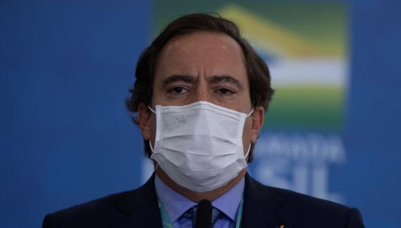 El presidente del banco público Caixa Económica Federal de Brasil, Pedro Guimarães, en una fotografía de archivo. (Foto: EFE/Joédson Alves).