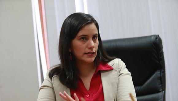 Verónika Mendoza resaltó la necesidad de dar con los responsables de las muertes de Inti Sotelo y Jack Pintado. (Foto: GEC)