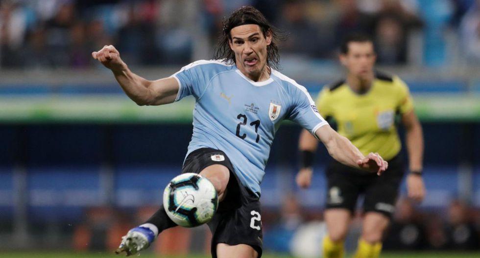 Edinson Cavani, atacante uruguayo con 47 goles con la selección. (Foto: Reuters)