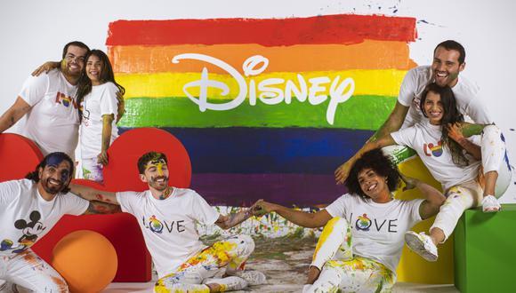 El video de Disney cuenta con la participación de creadores de contenido como Adriano Canella, Carlos Andrés Luna, Jefrey Sánchez, Sara y Atenas, Zantiago y Javiera Arnillas, intenta reflejar la unión, y el valor de la identidad personal. (Foto: Disney)