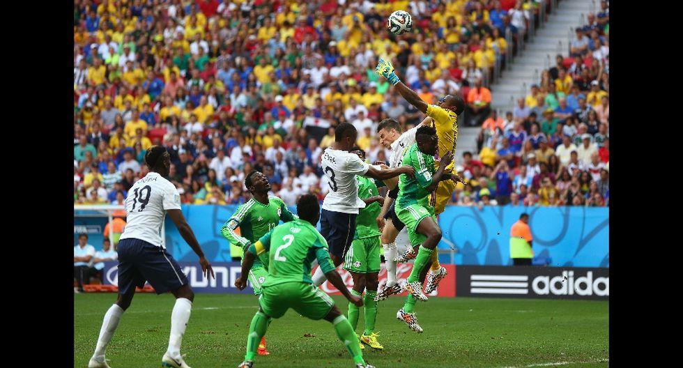 Enyeama y el error que opacó su gran actuación ante Francia - 1