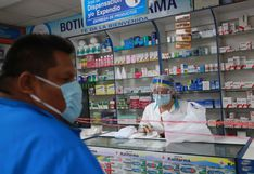 Multarán con hasta S/ 8,600 a farmacias que no informen precios de medicamentos contra el COVID-19