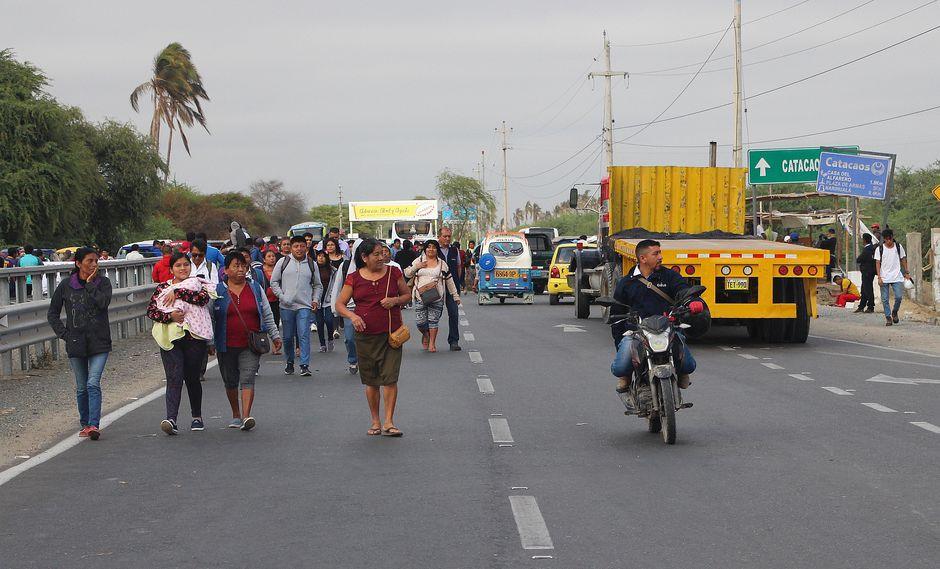 Reconstrucción: población del Bajo Piura insiste en acatar paro si no atienden sus pedidos