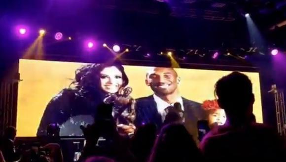 Pitbull, Diddy y DaBaby rinden homenaje a Kobe Bryant durante fiesta previa al Super Bowl. (Foto: Captura)