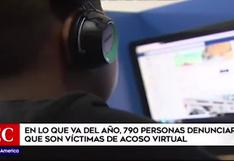 Más de 790 personas denunciaron ser víctimas de acoso cibernético