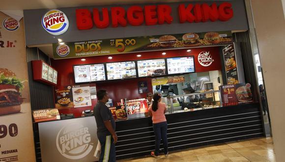 Burger King también mostró su apoyo a comentarios de algunos usuarios de redes sociales que cuestionaron el accionar del doctor Germán Málaga. (Foto: GEC)