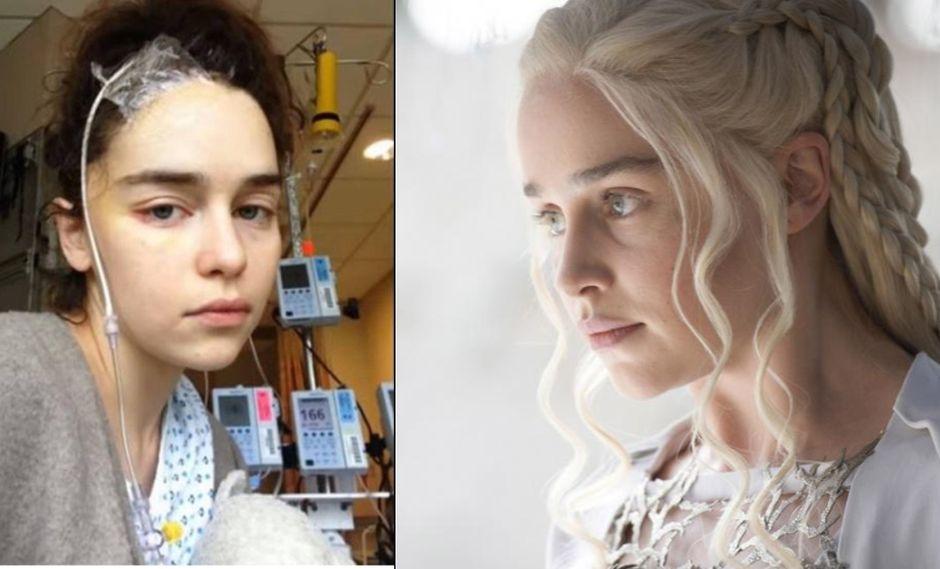"Emilia Clarke interpreta al personaje de Daenerys Targaryen en ""Game of Thrones"" (Fotos: Instagran / Macall B. Polay/HBO)"