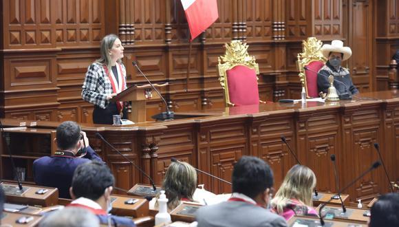 Depende del presidente Pedro Castillo promulgar la ley y publicarla en el diario oficial El Peruano.  (Foto: archivo Congreso)