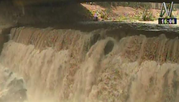 Fenómeno de El Niño: caudal del río Rímac se incrementó en 96%