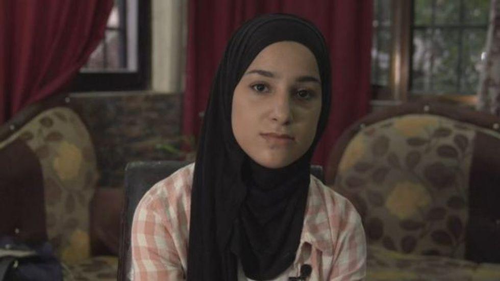 Malak Al-Ghalit fue detenida por un supuesto ataque con cuchillo en contra de soldados israelíes. Foto: BBC Mundo