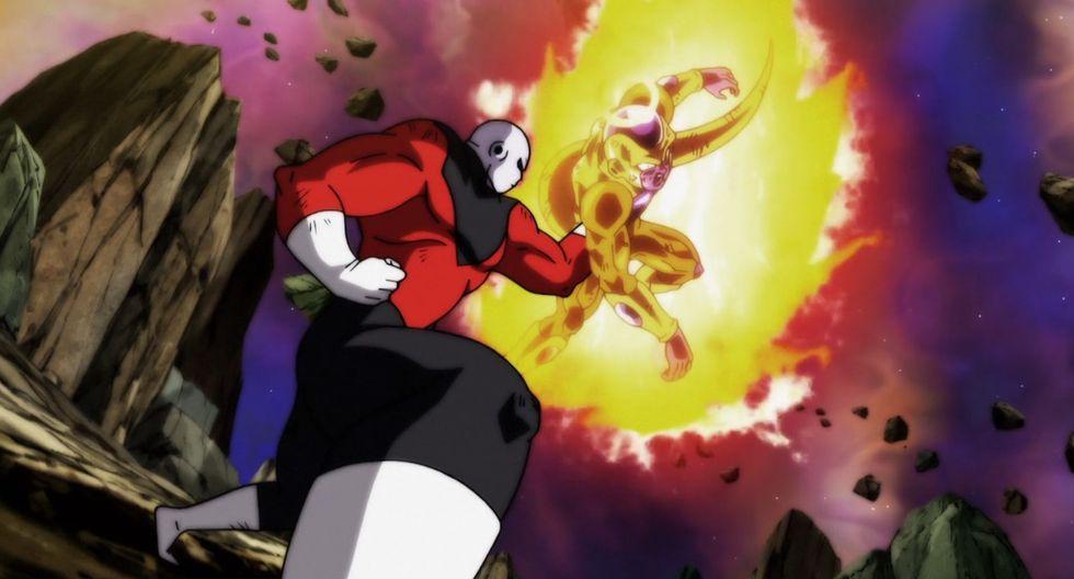 Así, Jiren y Freezer pelearían para definir el destino de sus respectivos universos. (Imagen: Toei Animation)
