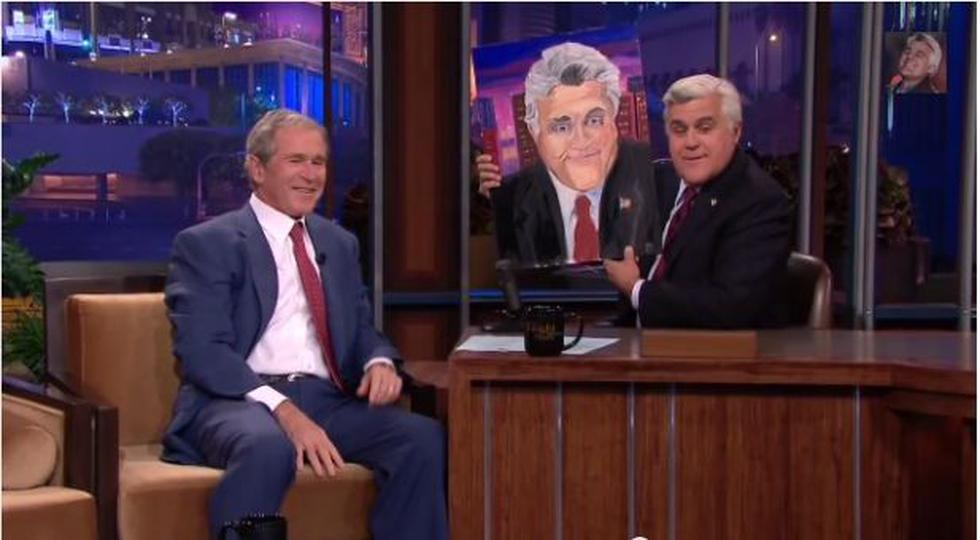 Ex presidente George W. Bush ahora se dedica a pintar - 1
