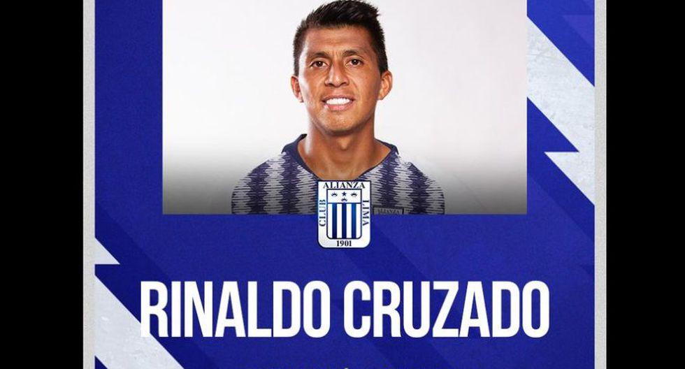 Rinaldo Cruzado renovó con Alianza Lima (Foto: Alianza Lima)
