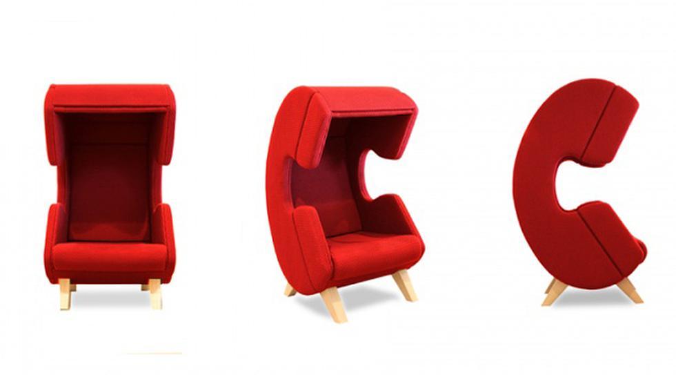 Ya no escapes para hablar por teléfono con la silla Firstcall - 2