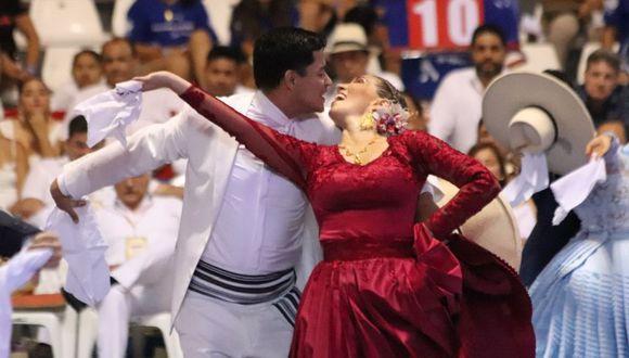 Trujillo: Sofía y Luis Miguel, 'Campeón de Campeones' de marinera
