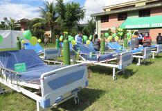 Vraem: entregan camas clínicas y equipos de oxígeno para enfrentar el COVID-19
